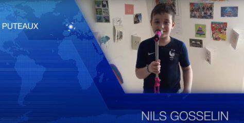 Mai 2020 : Nils pour la maîtresse