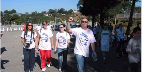 Juin 2007 : Marche contre le Diabète de type 1 à Los Angeles, CA